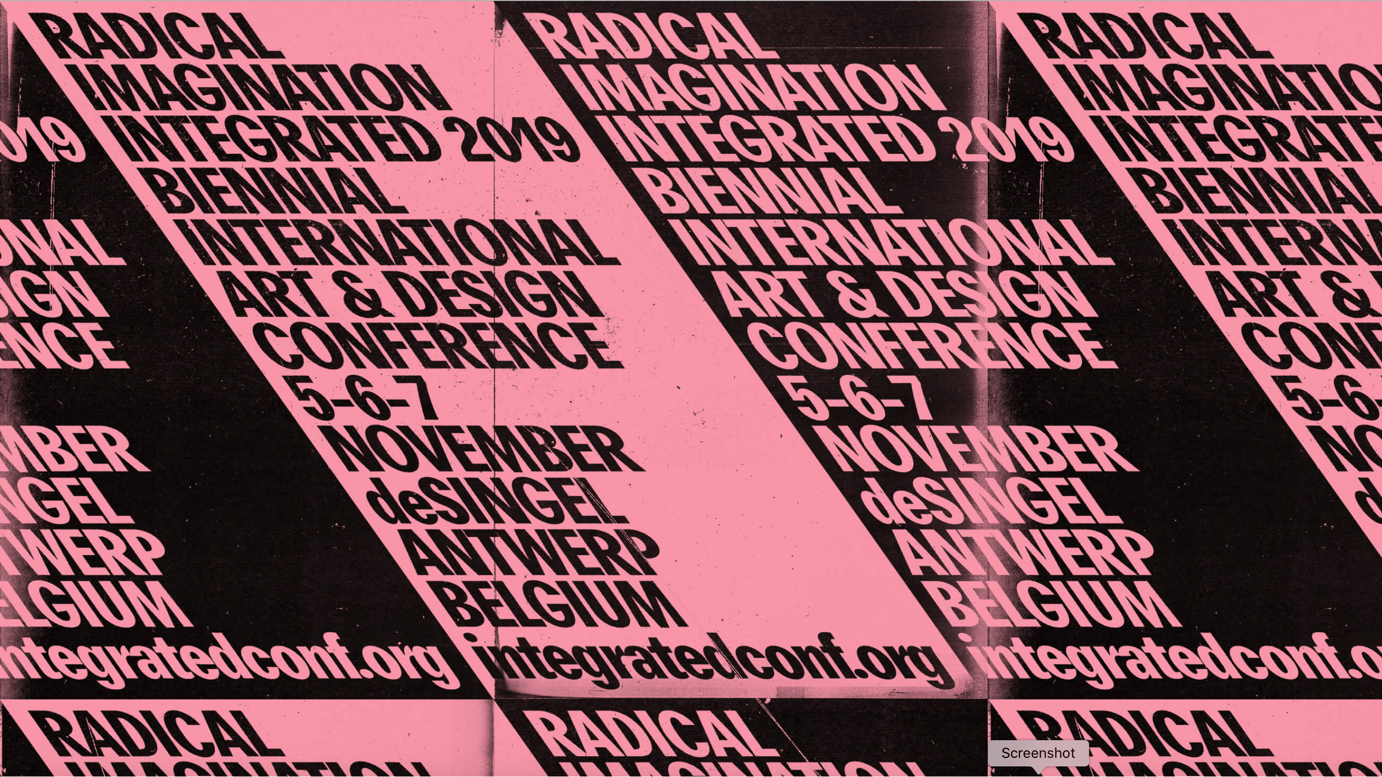 THE END OF HISTORY COMES AT THE END OF RADICAL IMAGINATION | IRI at Integrated 2019